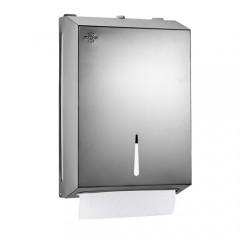 Rulopak Paslanmaz 400'lü Z-Katlama Kağıt Havlu Dispenseri-0