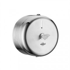 Rulopak Mini Cimri İçten Çekmeli Paslanmaz Tuvalet Kağıdı Verici-0