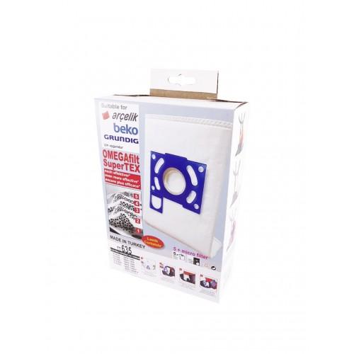 Arçelik TT635 Elektrik Süpürgesi Toz Torbası 5183S