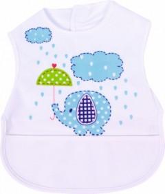Sevi Bebe Lüks Giymeli Önlük Mavi