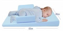 Sevi Bebe Çok Fonksiyonlu Yatış Yastığı Mavi