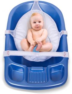 Sevi Bebe Çok Fonksiyonlu Bebek Yıkama File&Minderi Mavi