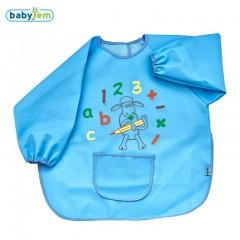 Babyjem Faaliyet Önlüğü Kollu Mavi