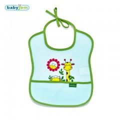 Babyjem Poli Muşamba Önlük Küçük Yeşil