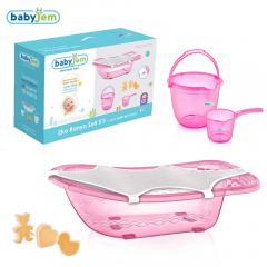 Babyjem Bebek Banyo Seti 5 Parça Pembe