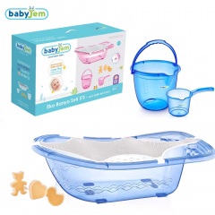 Babyjem Bebek Banyo Seti 5 Parça Mavi