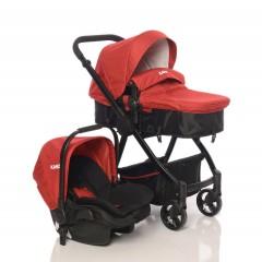 Kanz KZ4015 City Travel Sistem Bebek Arabası - Kırmızı