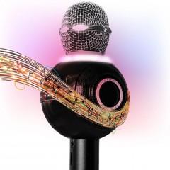 Disko Işıklı Çeşitli Ses Efektli Ws-878 Karaoke Mikrofon