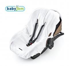 Babyjem Örme Havlu Ana Kucağı Kılıfı Beyaz