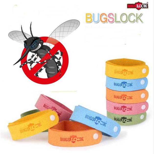 BugsLock Sivrisinek Kovucu Bileklik