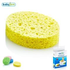 Babyjem Banyo Süngeri Selülozik Sarı