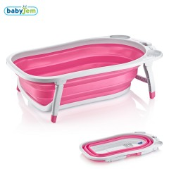 Babyjem Katlanabilen Banyo Küveti Pembe