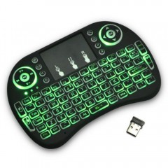 Işıklı Kablosuz Mini Klavye MS-33