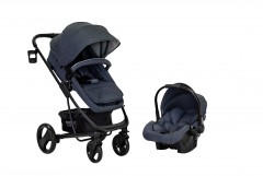 Sunny Baby Saturn Plus Travel Sistem Bebek Arabası - Gri