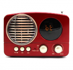 Meier M-163BT Ekranlı Bluetooth-USB-TF CARD Destekli  Fm Radyo