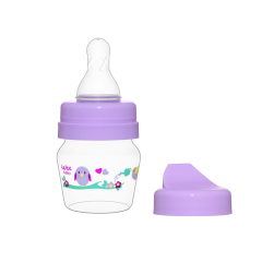 Wee Baby 778 Mini PP Alıştırma Bardağı Seti 30ml - Mor