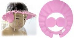 Sevi Bebe Bebek Banyo Şapkası Pembe