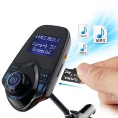 T10 Wifi Bluetooth Araç Kiti Fm USB Giriş Transmitter