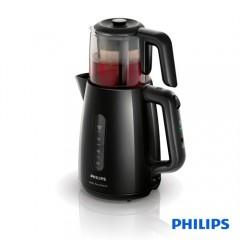 Philips Çay Ustası HD7301/00 1700W Çay Makinesi Siyah-1