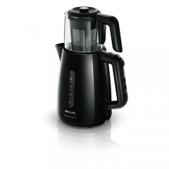 Philips Çay Ustası HD7301/00 1700W Çay Makinesi Siyah-0