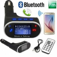 Kıngboss Handsfree Bluetooth Araç Kiti Fm Transmitter -1