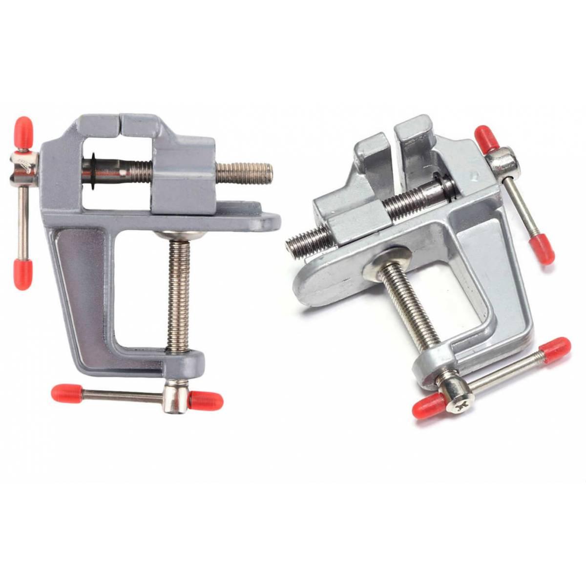 Mini Mengene Aleti Alüminyum Döküm 30 Mm Sıkma İşkence Aleti 3 Cm Sabitleme
