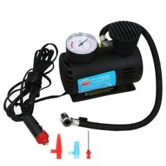 Araba Oto Araç Lastik Şişirme Pompası Hava Kompresörü 250psi 12v Volt Şişirici Kompresör Pompa Seti-1