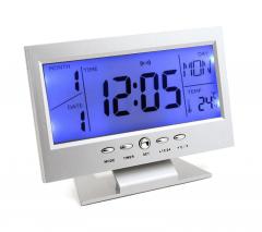 Dijital Masa Saati Takvim Termometre