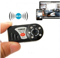 Mini Q7 Wifi DVR Kablosuz Video Kaydedici Gece Görüşlü Kamera