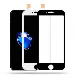 Iphone 7/8 Plus 5D Kavisli Temperli Kırılmaz Ekran Koruyucu Cam