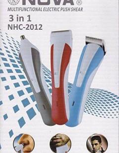 3 in 1 saç sakal traş Makine Nova