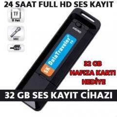 32 Gb Ses Kayıt Cihazı Hafıza Kartı Dahil