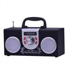 Ahşap Bluetooth Usb Fm Radyo Hoparlör