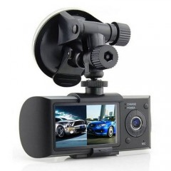 Çift Lensli Dvr Çift Yönlü Araç İçi Kamera ve Gps Kayıt-1