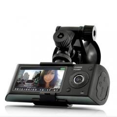 Çift Lensli Dvr Çift Yönlü Araç İçi Kamera ve Gps Kayıt-2