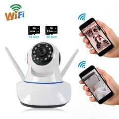 Dextel 360º Gerçek HD Wifi Kablosuz IP Kamera Bebek Takip Kamera