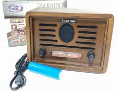 Everton RT-3050 Nostalji Görünümlü Mini Radyo