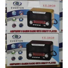 Everton VT-3050 Bluetooth Özelikli Radyo Müzik Çalar Müzik Kutusu