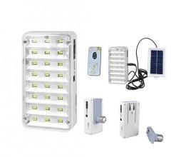Harici Solar Güneş Panelli Şarjlı Işıldak Lamba LED KS-9817T