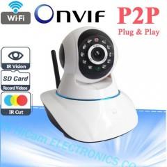 Kablosuz Ip Kamera Güvenlik Kamerasi