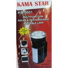 Kama Star KM-9001 1W 16SD Solar Fener Işıldak
