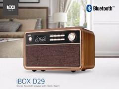 Loci iBox D29 Bluetooth USB MP3 Müzik Çalar FM Radyo