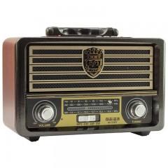 Meier M-113BT USB-SD-FM-Bluetooth Destekli Nostaljik Radyo