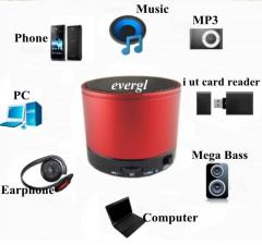 Mini Bluetooth Hoparlör Sd Kart Müzik Radyo