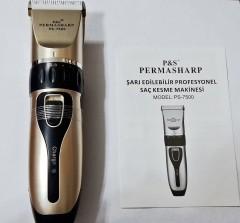 Permasharp Ps-7500 Yedek Bataryalı Profesyonel Saç Kesme Makinesi