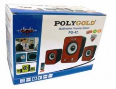 Poly Gold Pg-42 2in1 Ses Sistemi