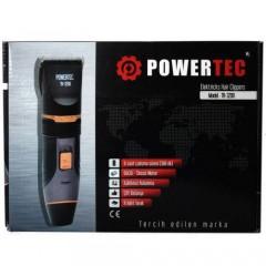 Powertec TR-3200 Yedek Bataryalı Saç Sakal Traş Makinesi