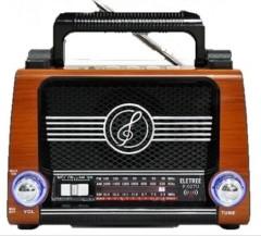 PPO FM Radyolu Nostalji Görünümlü Müzik Kutusu
