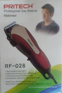 Pritech RF-028 Elektrikli Saç Kesme Makinesi