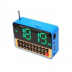 Radyolu Alarm Saat Usb SD Kart  WS-1513